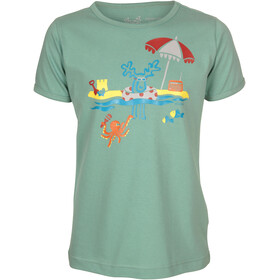Elkline Mehrmeer T-shirt Børn, malchite green